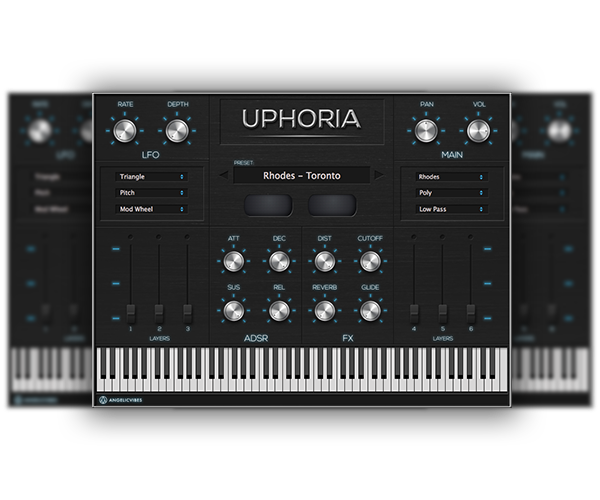 Uphoria VST Skin Artwork